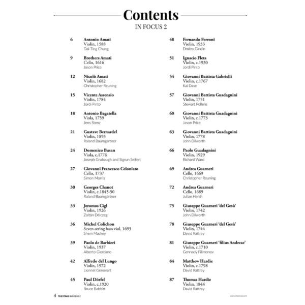 In Focus 2 Contents p1